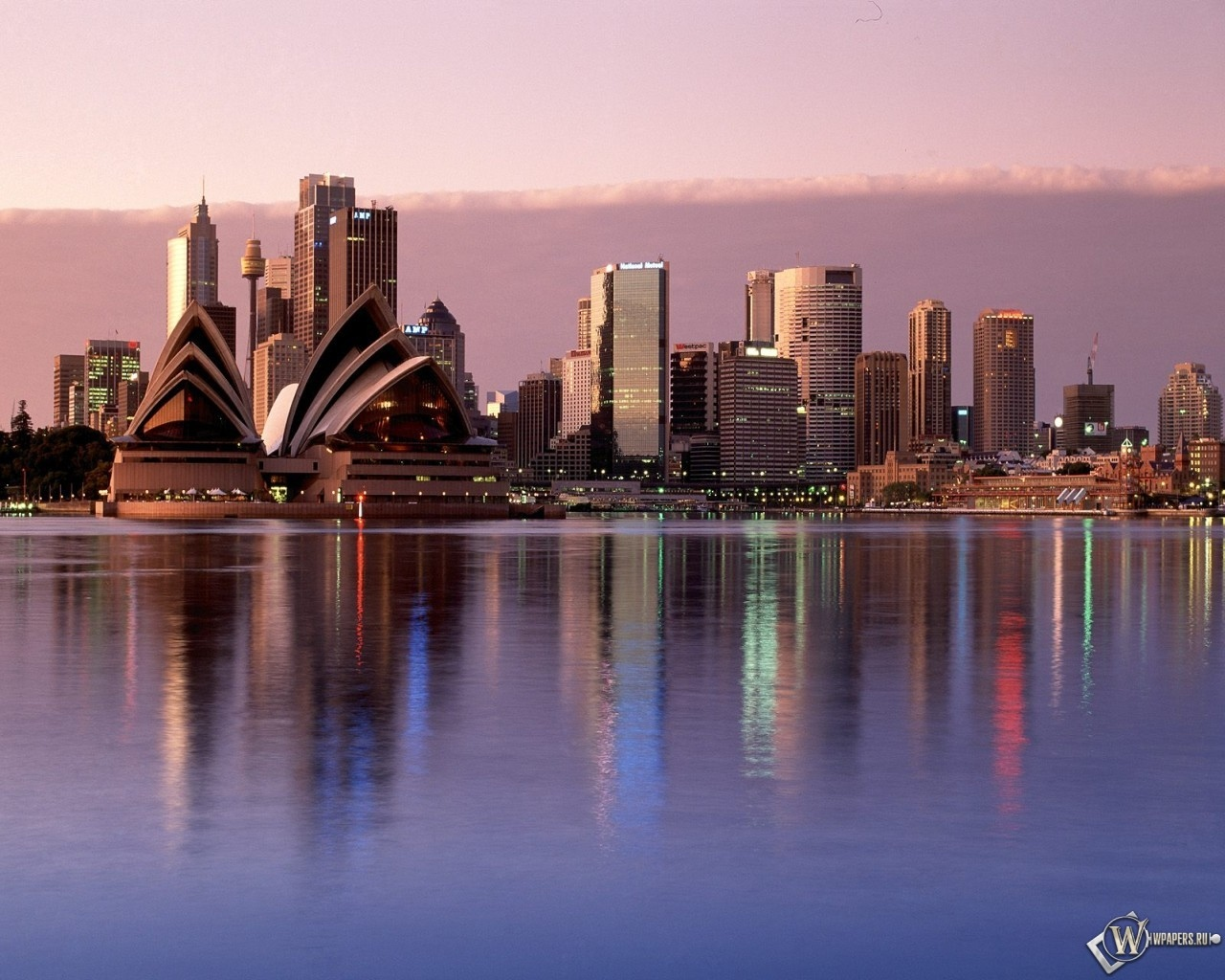 Sydney Reflections Australia 1280x1024