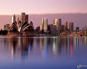 Обои Sydney Reflections Australia: , Города и вода