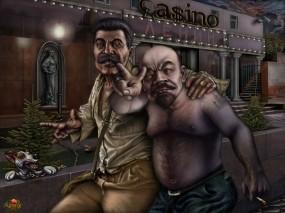 Обои Деловые люди: Ленин, Сталин, Бизнес, Фэнтези