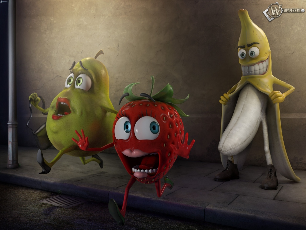 Банан-маньяк 1024x768