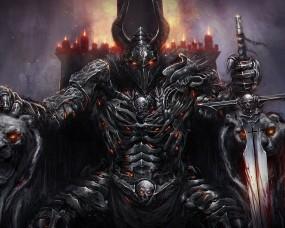 Обои Black Guard: Демон, Черный Рыцарь, Черный Страж, Фэнтези