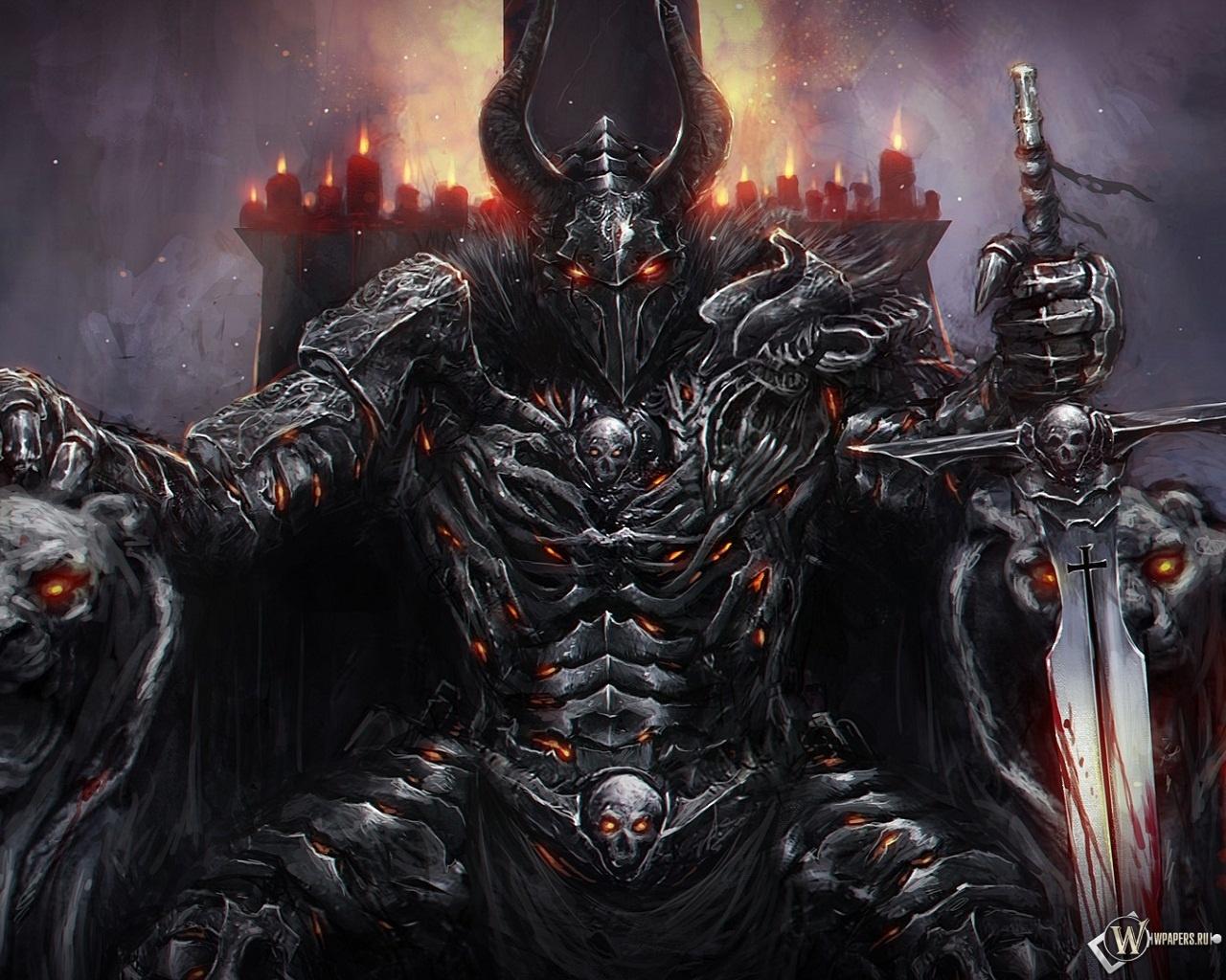 Демонический рыцарь картинки