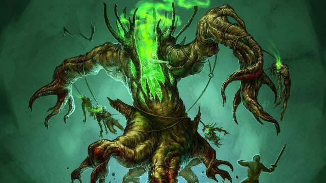 Дерево монстр
