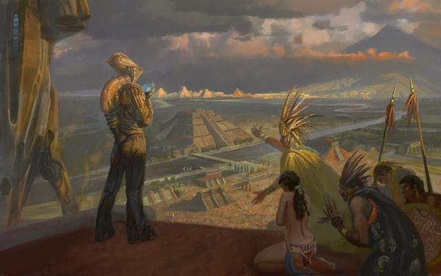 Ацтеки и Индейцы