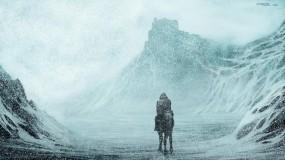 Обои Всадник из льда: Зима, Снег, Всадник, Фэнтези