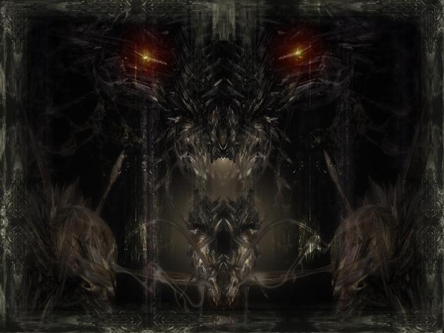 Глаза во тьме