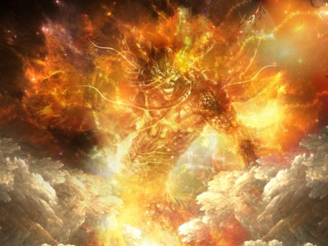 Огненный демон