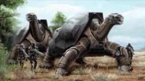Обои Черепахи: Оружие, Черепахи, Фэнтези