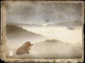 Обои ёжик в тумане: Туман, Ёж, Фэнтези