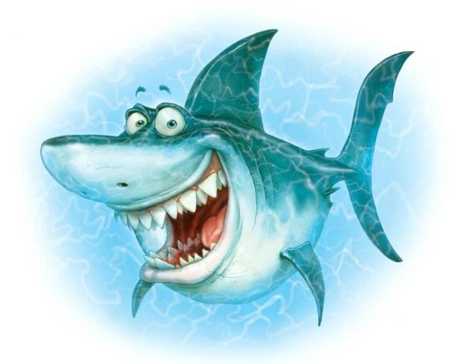 Обкуренная акула