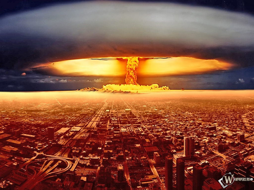 Ядерный взрыв 1024x768