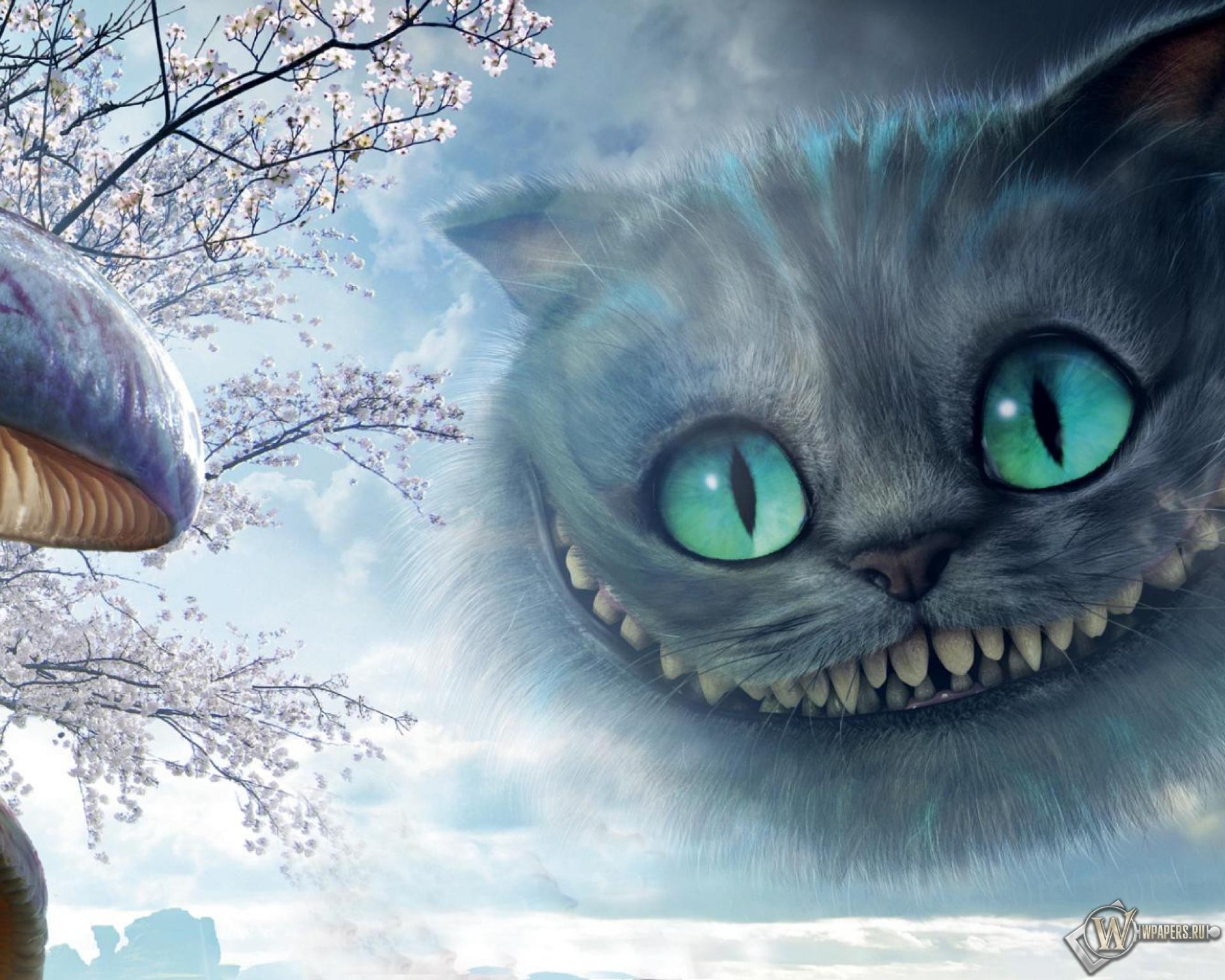 Картинки с чеширским котом из фильма алиса, поздравление вербной воскресеньем