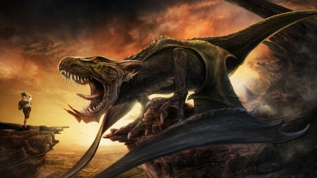 Фото дракона