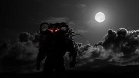 Обои Демон ночи: Ночь, Демон, Мгла, Фэнтези