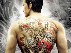 Обои Yakuza: Татуировка, Yakuza, Мафиози, Фэнтези