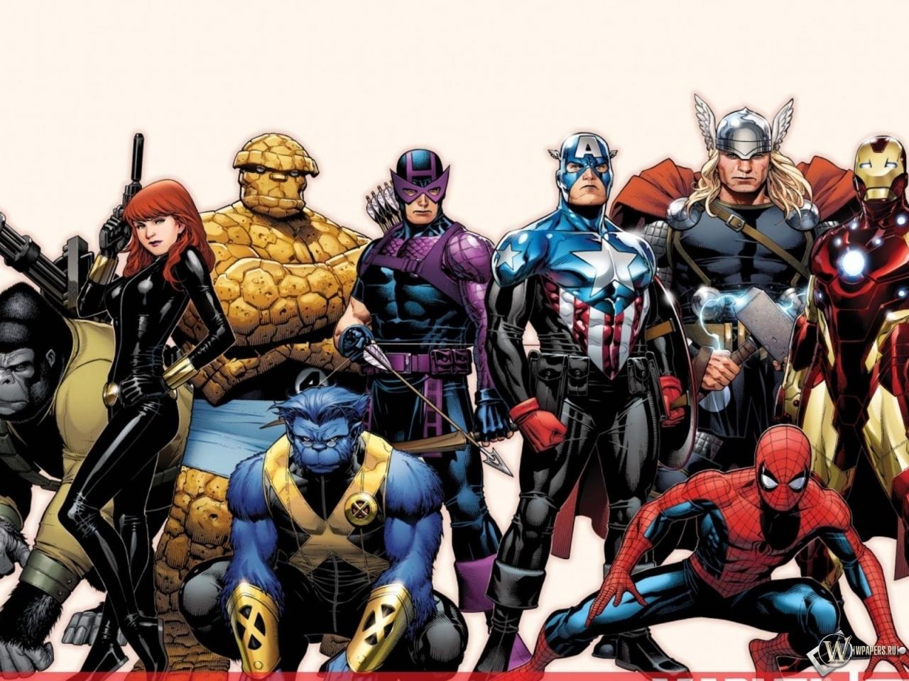 Обои рабочего стола супергерои 6