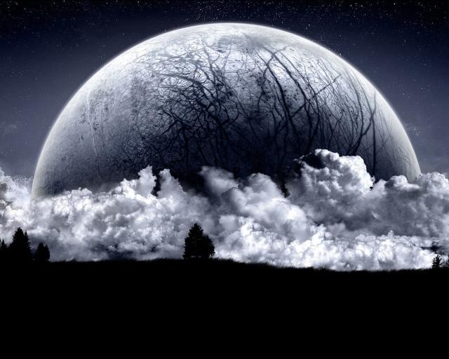 Огромная планета