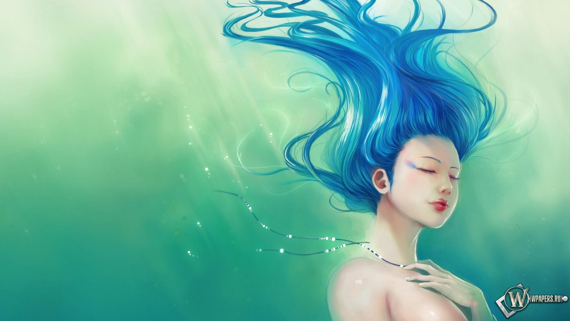 Девушка из воды 1920x1080