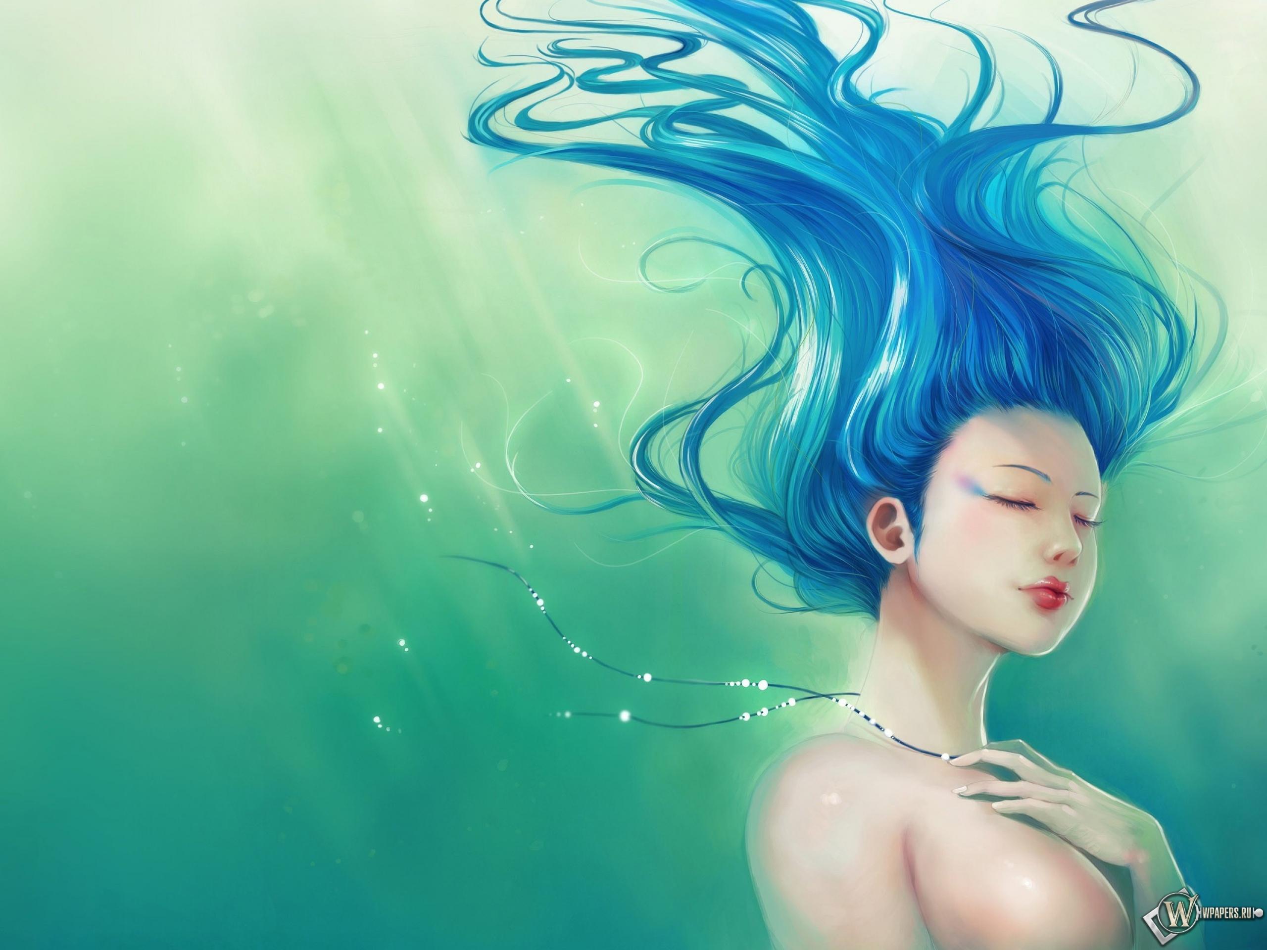 Девушка из воды 2560x1920