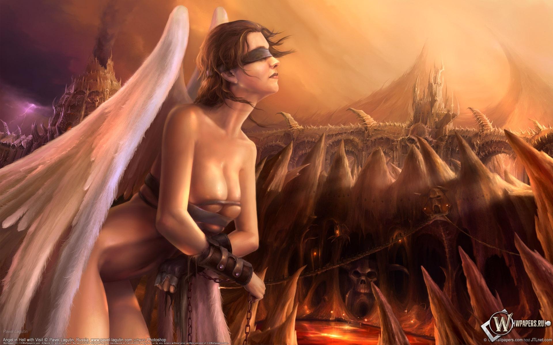 Девушка-ангел 1920x1200