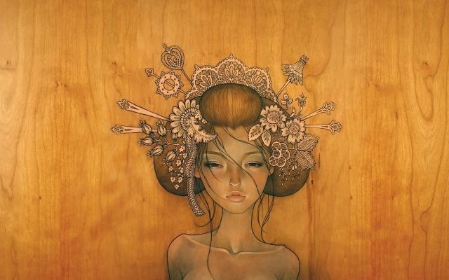 Девушка из дерева