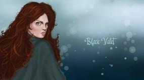 Обои Рыженькая ведьма: Девушка, Фэнтези, Ведьма, Фэнтези - Девушки