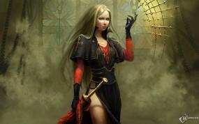 Обои Fantasy Girl: Fantasy girls, Фэнтези - Девушки