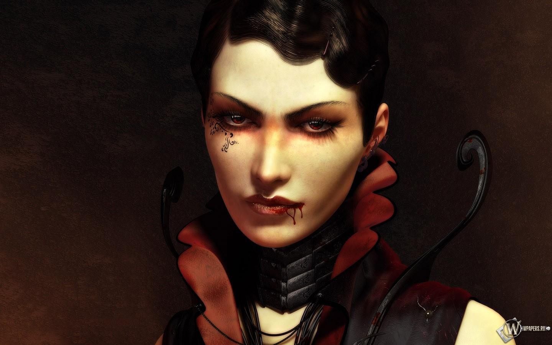 Шикарная вампирша 1440x900