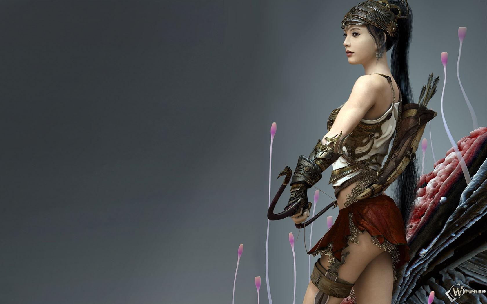 3d fantasy girl 1680x1050