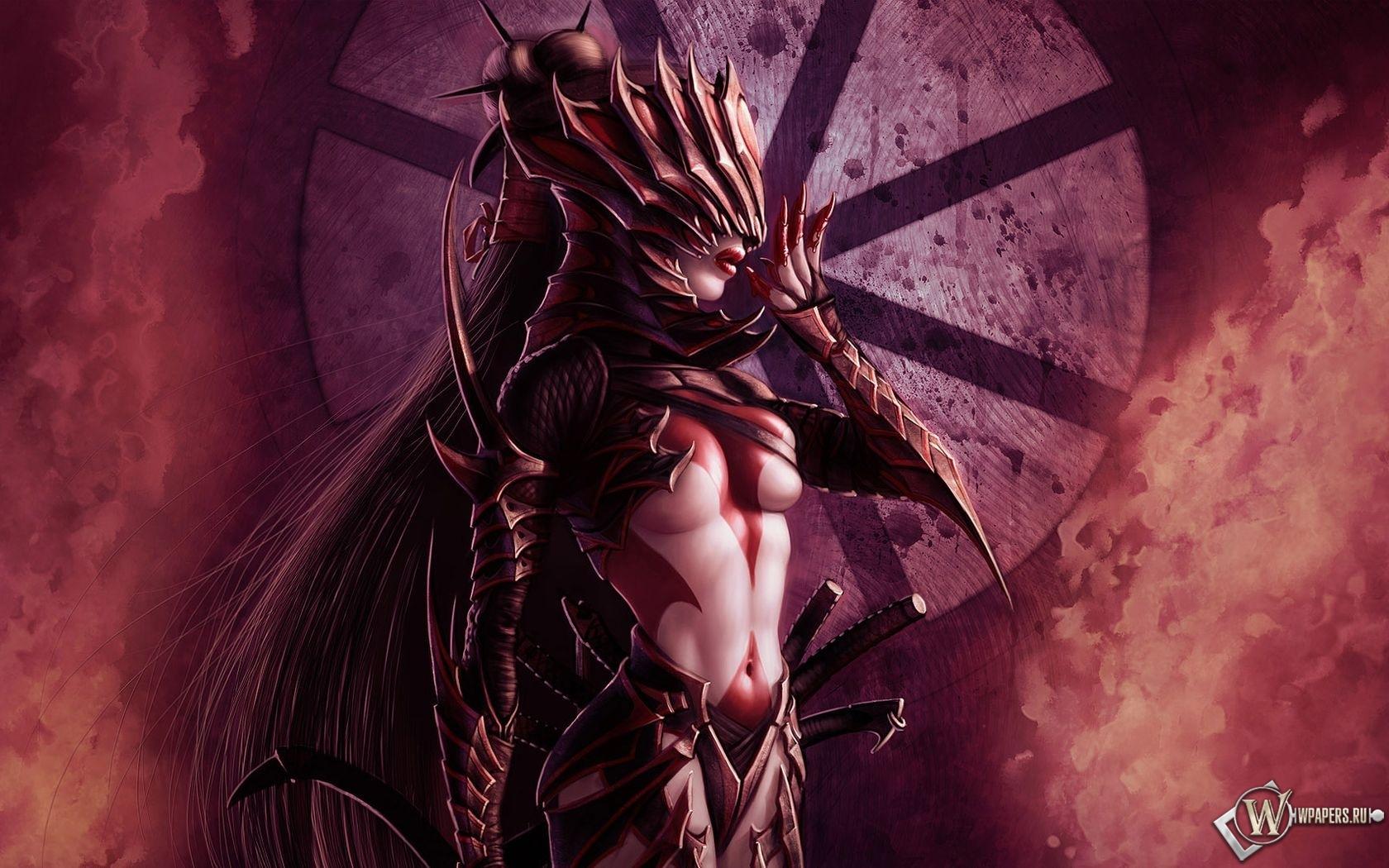 Девушка демон 1680x1050