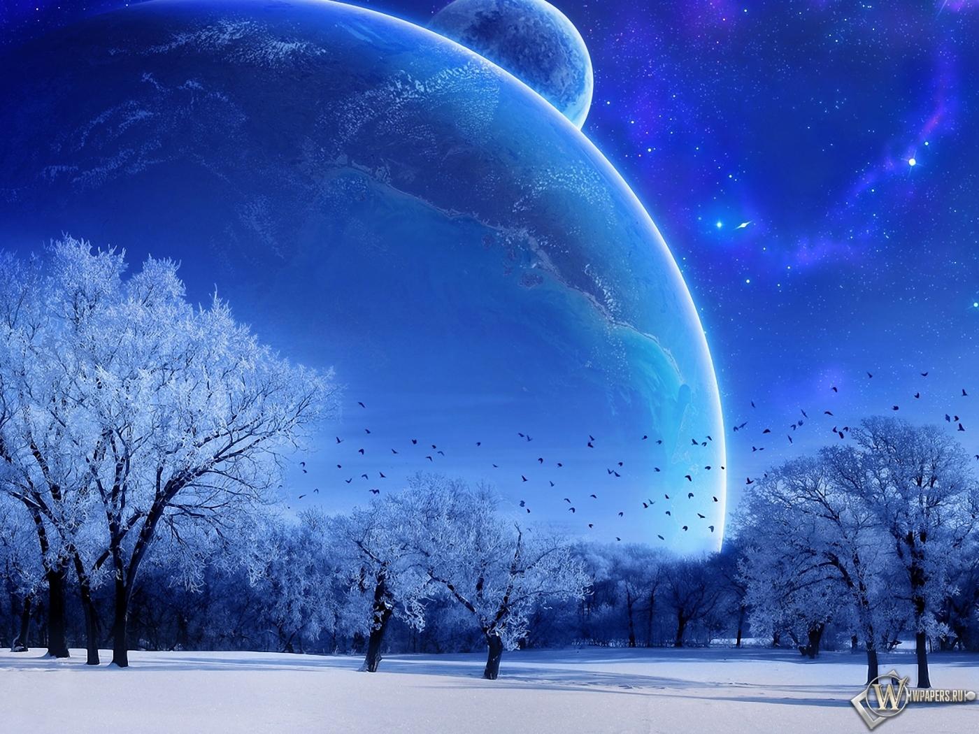 Зимняя фантазия 1400x1050