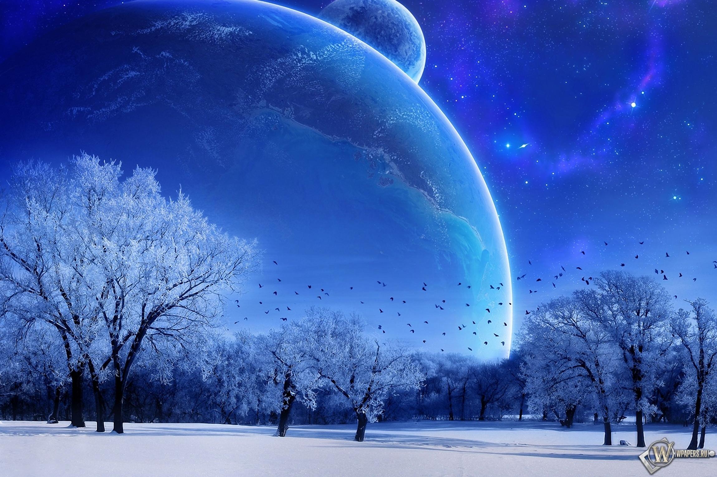 Зимняя фантазия 2300x1530