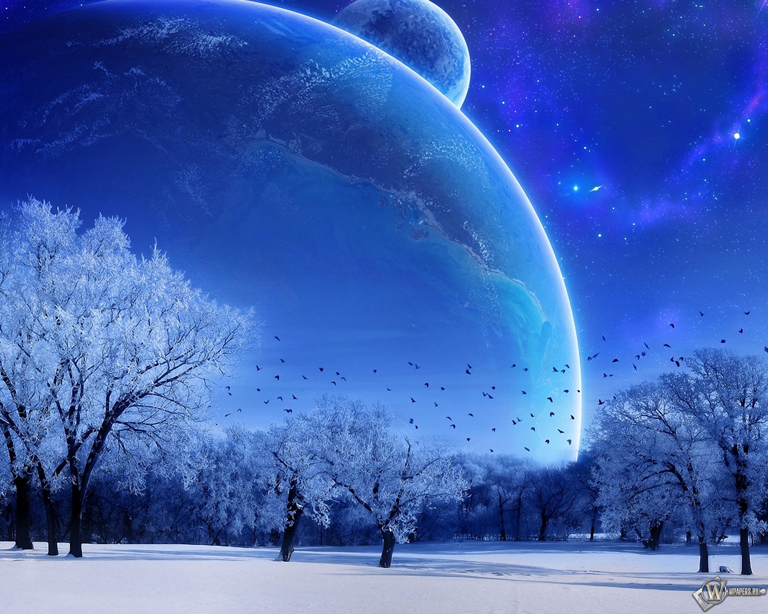 Зимняя фантазия 2560x2048