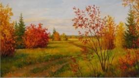 Обои Осенний пейзаж: Природа, Осень, Фэнтези - Природа