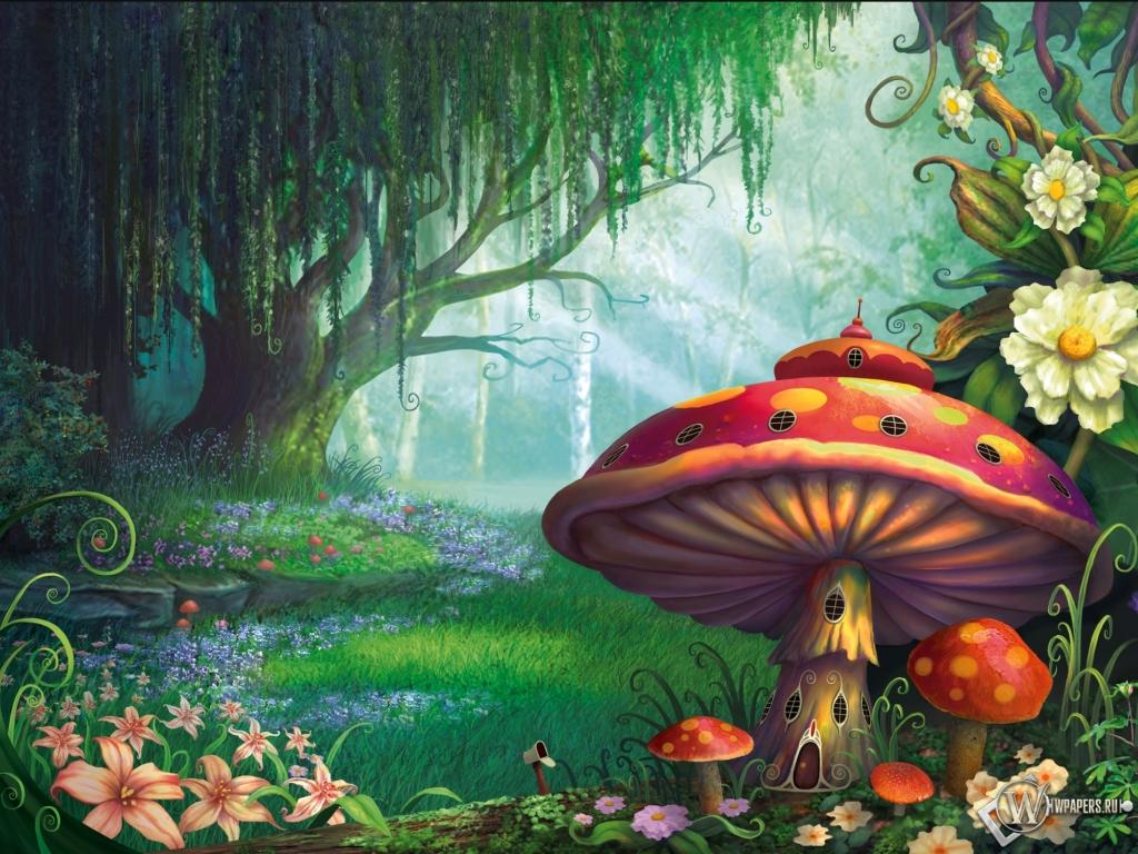 Сказочный лес  1024x768