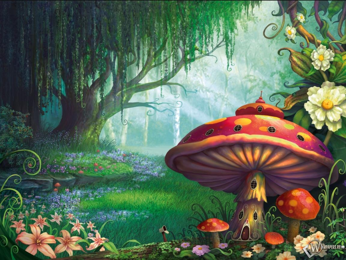 Сказочный лес  1152x864