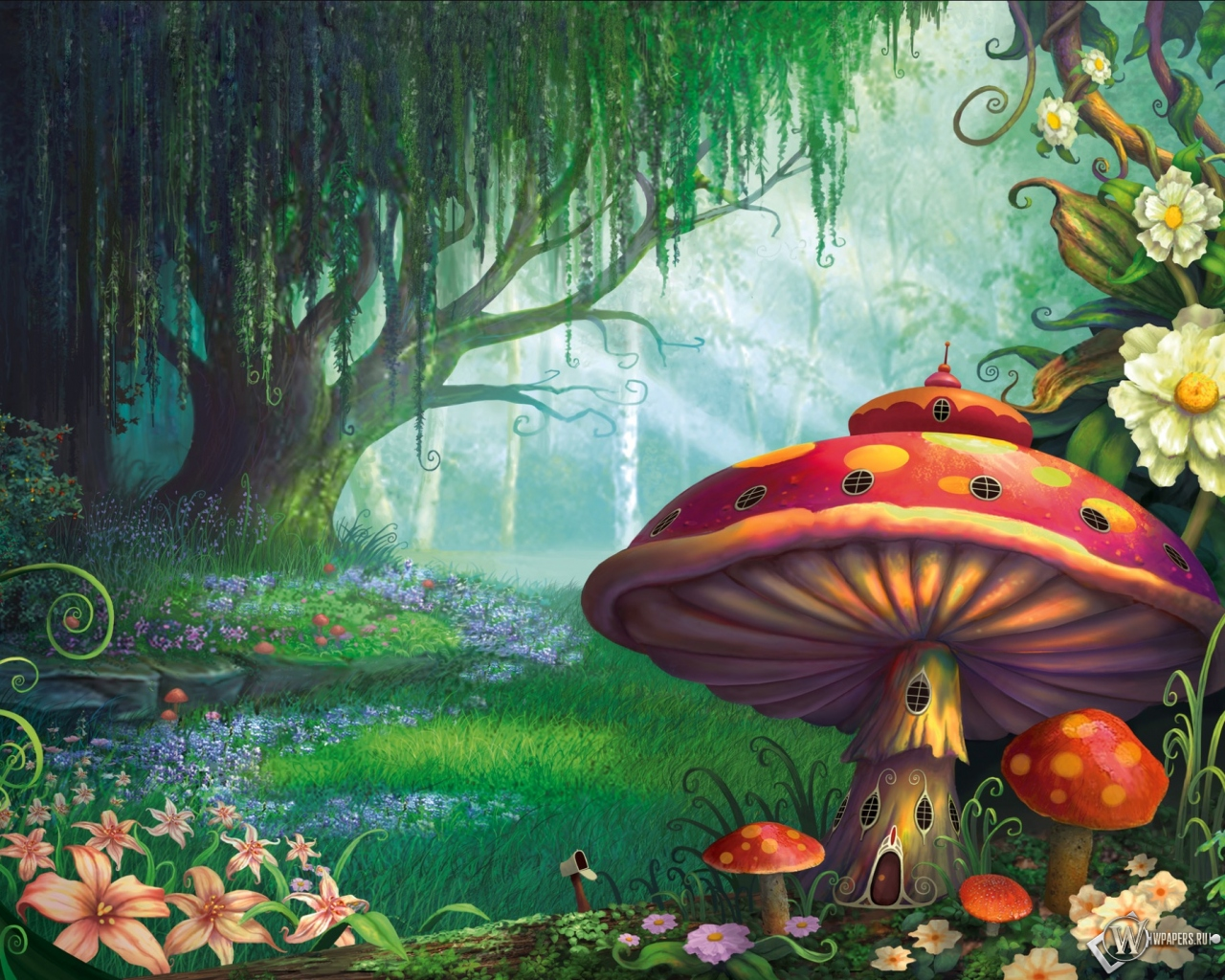 Сказочный лес  1280x1024