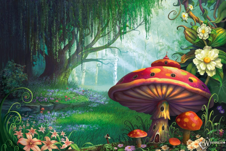 Сказочный лес  1500x1000