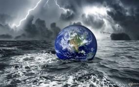 Обои Всемирный потоп: Вода, Земля, Потоп, Фэнтези - Природа