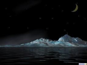 Обои 3D Айсберг: , Фэнтези - Природа