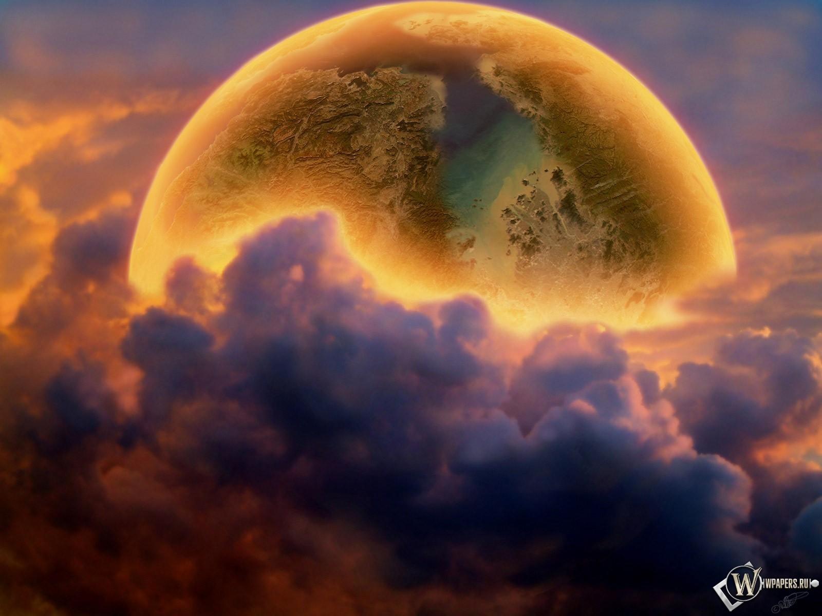 Планета за облаками 1600x1200