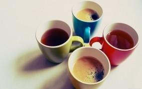 Обои Чашки кофе: Кофе, Чашки, Еда