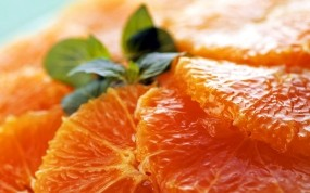 Обои Дольки апельсина: Еда, Апельсин, Еда