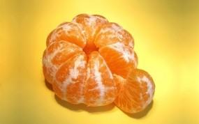 Обои Мандарин: Оранжевый, Фрукт, Мандарин, Еда