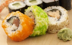 Обои Суши: Еда, Рыба, Суши, Еда