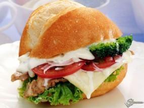 Обои Сендвич: , Еда