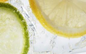 Обои Лимон и лайм: Лимон, Лайм, Еда