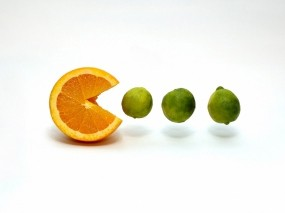 Обои Pac Fruit: Еда, Игра, Еда
