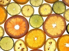 Обои Цитрусовые: Цитрусовые, Лимоны, Апельсины, Еда