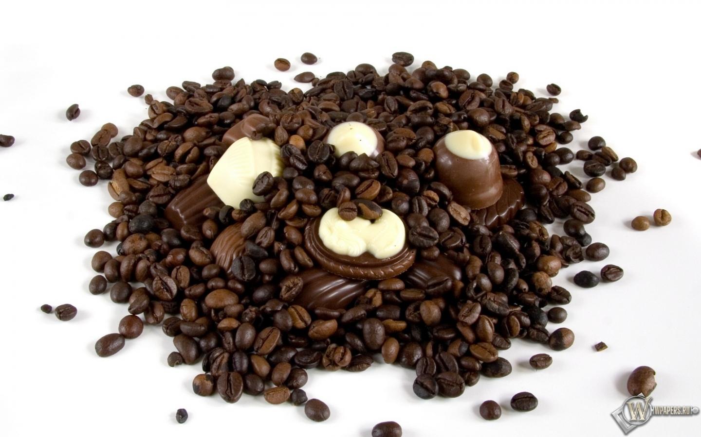 Ска�а�� обои Ко�е � �околадом Ко�е Шоколад для �або�его